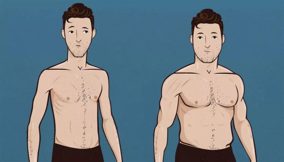 男士该怎么增重增肌? 第1张